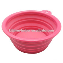 Shenzhen China Colorful Cheap Flexible Silicone Collapsible Bowl for Pets