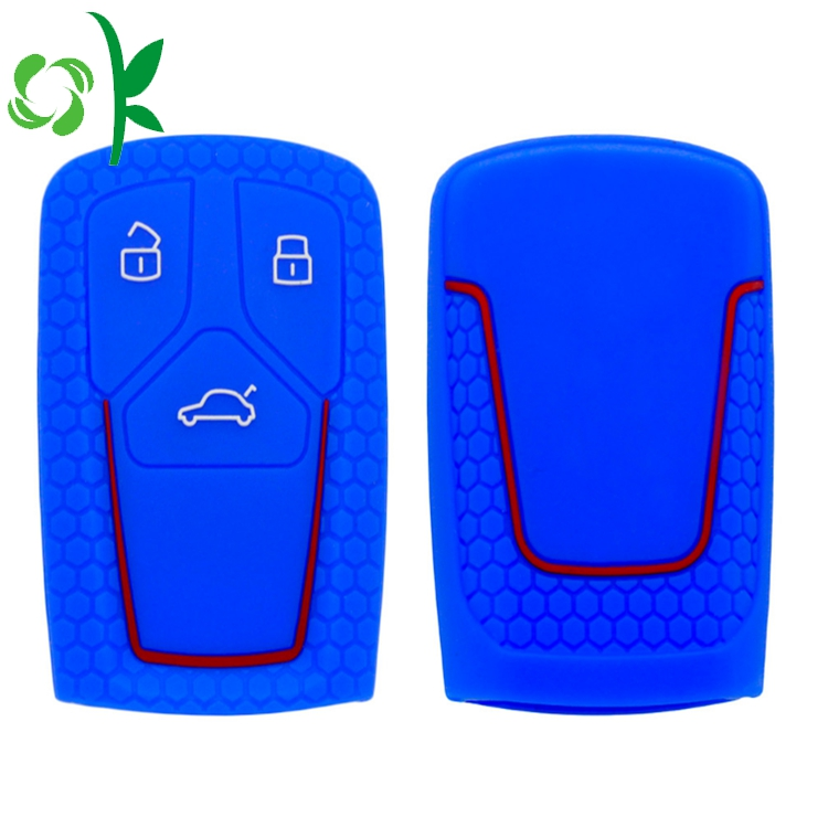 silicone car case deep blue