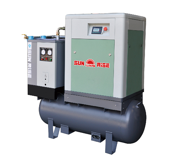 7.5kw screw air compressor