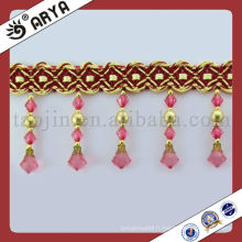 Stock Beads Curtain Trims Bullion Tassel Fringe