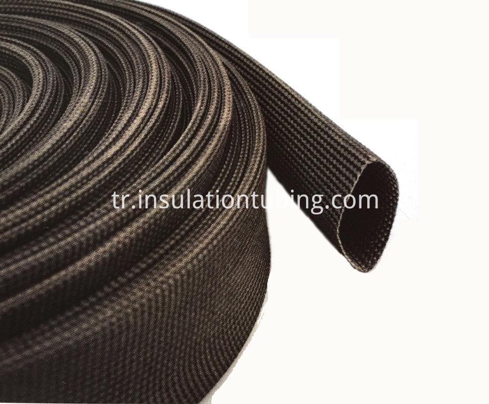 Black braided sleeving