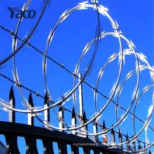 Barbed wire price per roll,razor wire for sale