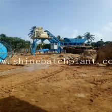 Sri Lanka  Mobile Concrete Bathing Plant