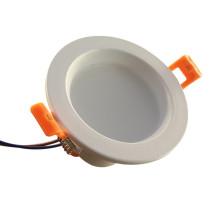 3W empotrable temperatura de color cambiable LED Downlight 2inch
