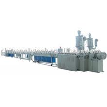 Chaîne de production en plastique de tuyau de silicium-noyau