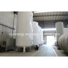 2015 nouveau réservoir de dioxyde de carbone d'azote argon d'oxygène liquide en acier soudé