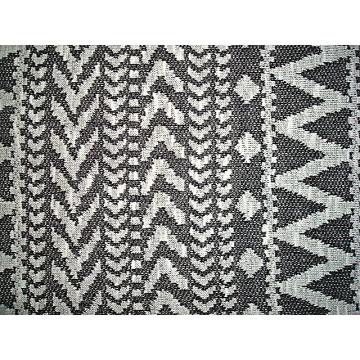 Tissu de tricot jacquard design géométrique