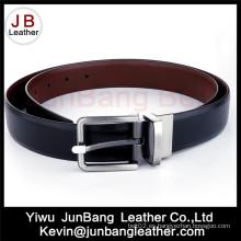 Cinturón de cuero clásico de los hombres en alta calidad