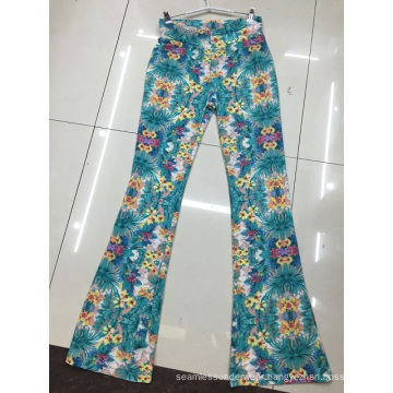 2016 Spring Fashion Laides Print Jeans Pants Denim Leggings