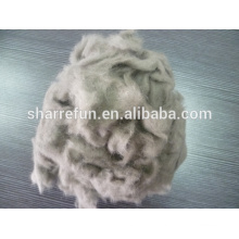 Dehaired Mink wool manufacturer,mink wool fiber 14.5mic/10mm for sale