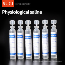 CE Approved 0.9% NS 15ml Independent Packaging Physiological Normal Saline