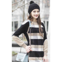 Patterned Cashmere Sweater (1500002052)