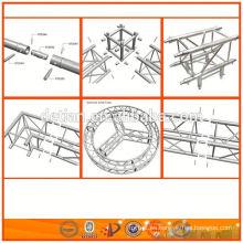 sistema de cerchas de aluminio con iluminación para el stand de ferias y otros fabricantes de usos
