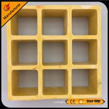 widely used fiberglass drainage grating side walk frp grill