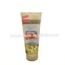 200ml cosmetic plastic color long hair dryer tube