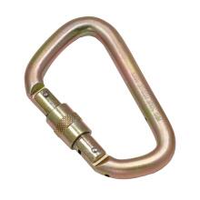 2448SG Acier Clair Vis à Vis ScrewLock Captive Pin D Type Safety Hook