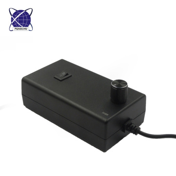 Adaptateur de courant alternatif de tension réglable de 3-12v 4a