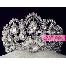 Schöne Festzug Kristall Großhandel Mode Rhinestone Kronen