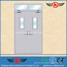 JK-F9009 porta de segurança a prova de fogo e preço da fábrica / porta de fogo