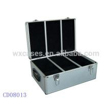 alta qualidade CD 450 discos CD caixa de alumínio grosso