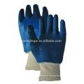 Garniture de serviette Blue nitrile gants entièrement revêtus
