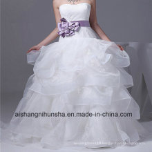 New Arrival Wedding Dress Lace Strap A-Line Wedding Gown