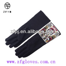 Fashionable design Chinese style handmade wool gloves