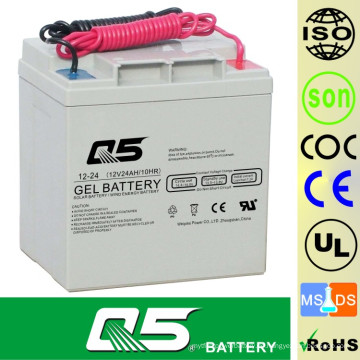 12V24AH Solarbatterie GEL Batterie Standard Produkte