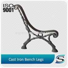 Custom design cast iron garden bench legs