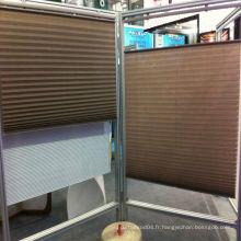 2014 Chine mini stores plissés sans fil chaud en bonne qualité, rideau plissé aveugle, stores plissés en tissu