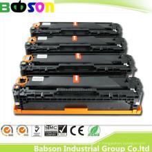 CE, OIN, cartouche de toner de couleur compatible de la Chine RoHS pour HP Ce320A, Ce321A, CE322A, CE323A (128A) Prix favorable / livraison rapide