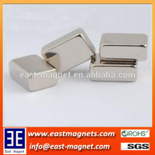 small block neodymium NICUNI coated magnet for sale/ningbo east magnet block magnet for sale