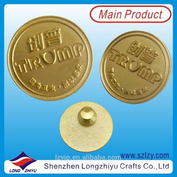 Логотип Металлические Кнопки Значок Pin Золота