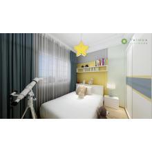 Детская комната с индивидуальным шкафом-купе