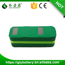 Comercio al por mayor sub c 3000 mah nimh batería 14.4 v ni-mh batería para aspiradora recargable