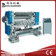Machine automatique de rebobinage de fente pour le plastique