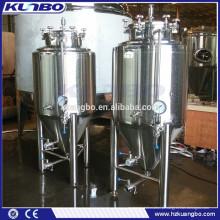 Opere com segurança o tanque de fermentação de cerveja para cervejaria, cervejaria