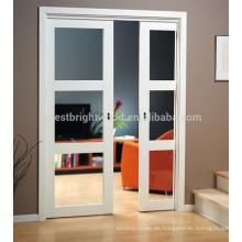 La puerta deslizante de vidrio interior más popular