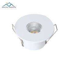 Wolink china led emergency recessed fire rated flat gimbal downlight ip44