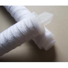 Cartucho de filtro de tela con tapas o conexiones