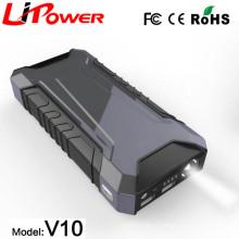 Чрезвычайная инструмент многофункциональный автомобиль стартер с интеллектуальными clamps12 вольт аккумулятор 12000mAh