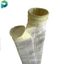 The PTFE coating with water and oil proof polyester needle felt filter bag