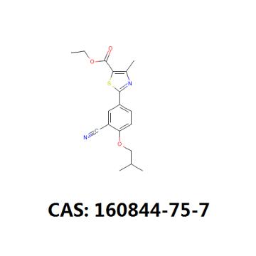 Cas 160844-75-7 Febuxostat intermediate