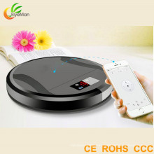 Home Robot Vacuum Cleaner with Brush Working