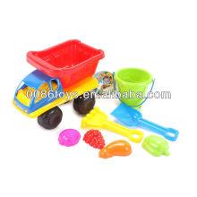 2013 Sommer Plastik Sand Strand Spielzeug für Kinder gesetzt
