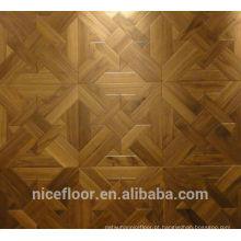 Pavimento em soalho de madeira maciça em camadas N1068 PRETO PARQUET FLOOR OAK