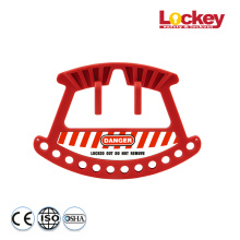 Combination Lockout Padlock Kit and Lockout Rack
