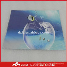 eco-friendly,custom full colors logo printed microfiber cleaning cloth for phone