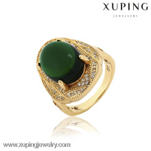 12846- China Xuping Imitation Jewelry Fashion For Man Gold Rings With High Quality