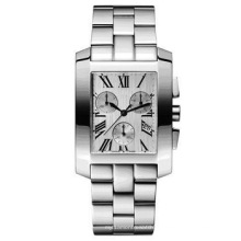 Unisexe Ss Case Ceramique Bezel Ss Bracelete Bande Qualité Timepiece